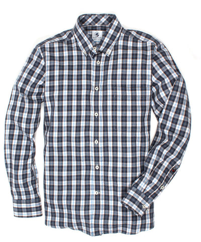 Southern Proper - Goal Line Plaid Long Sleeve Shirt