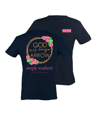 Simply Southern - Youth God is My Arrow Tee