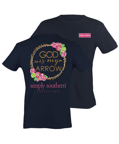 Simply Southern - God Is My Arrow Tee