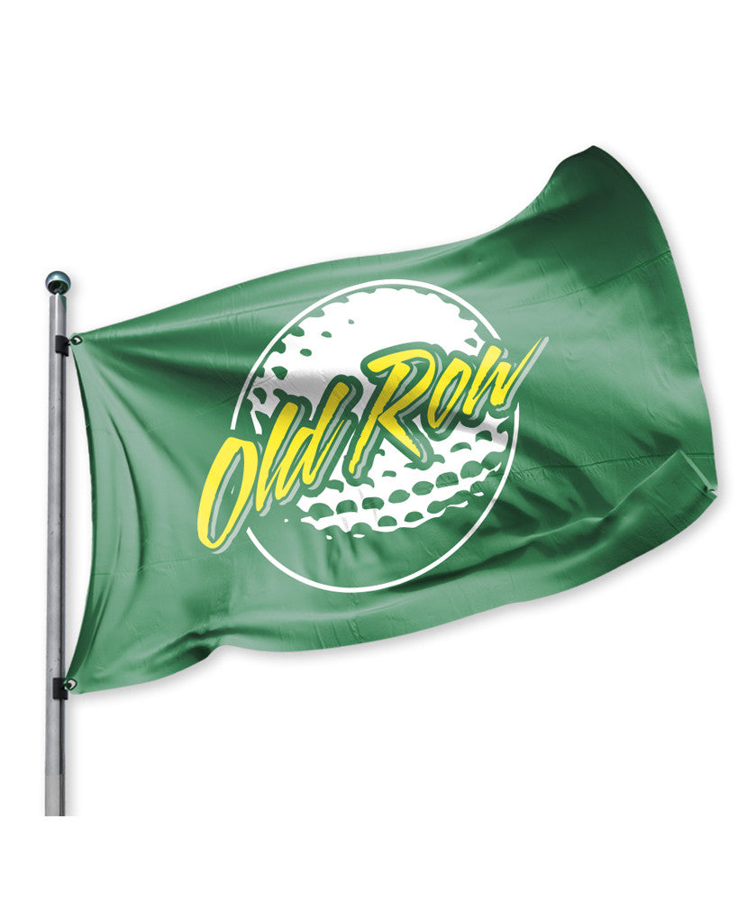 Old Row - Golf Flag