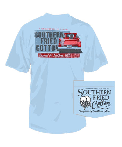 Southern Fried Cotton - Dog Gone Fishing Tee