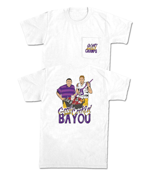 Old Row - Good Cookin' On The Bayou Tee