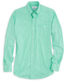Southern Tide - Gorda Peak Check Intercoastal Performance Long Sleeve Shirt
