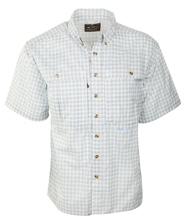 Drake - Featherlite Plaid Wingshooter's Short Sleeve Shirt