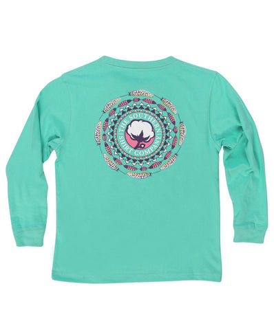 Southern Shirt Co - Youth Boho Logo Long Sleeve Tee