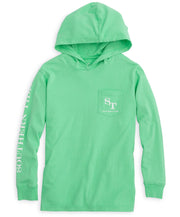 Southern Tide - Youth Skipjack Hoodie Long Sleeve Tee
