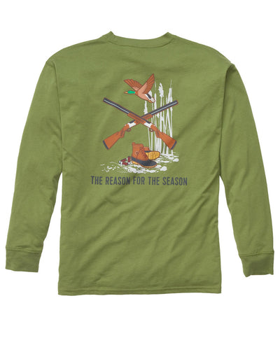 Southern Proper - Reason for Season Long Sleeve Tee