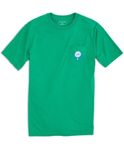 Southern Tide - 19th Hole T-Shirt - Augusta Green Front