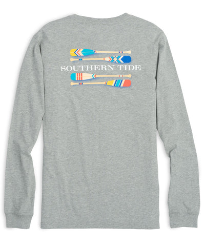 Southern Tide - Long Sleeve Canoe Dig It Tee