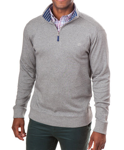 Southern Tide - Lightweight Skipjack 1/4 Zip Pullover Heathered
