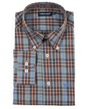 Southern Marsh - King Windowpane Dress Shirt