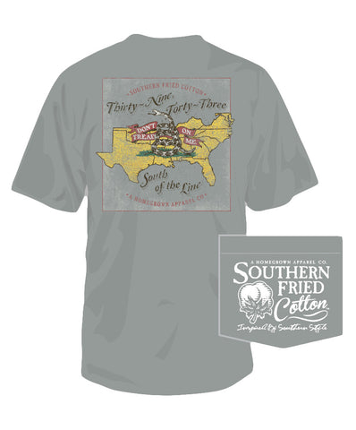 Southern Fried Cotton - Don't Tread Pocket Tee