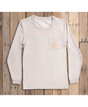 Southern Marsh - FieldTec Comfort Long Sleeve Tee - Sunset