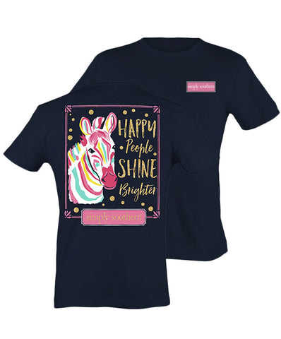 Simply Southern - Happy People Shine Brighter Tee