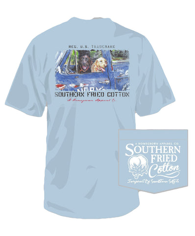 Southern Fried Cotton - Hardly Workin Tee