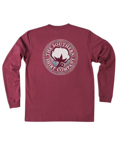 Southern Shirt Co - Aztec Logo Long Sleeve Tee