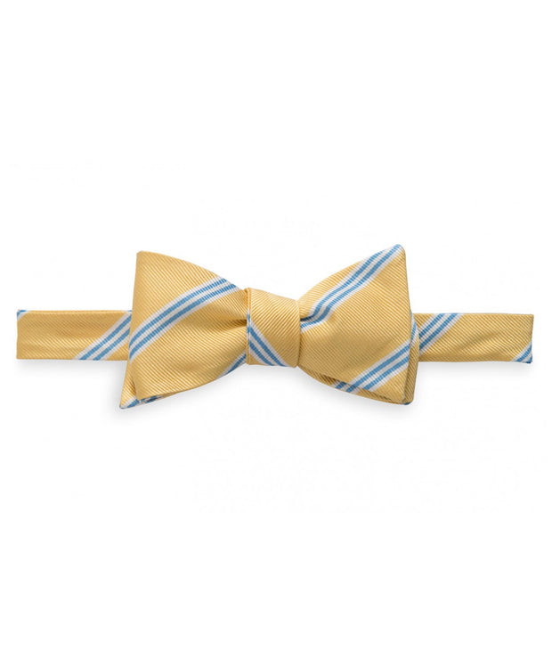 Southern Tide - Heritage Stripe Bow Tie - Sunshine