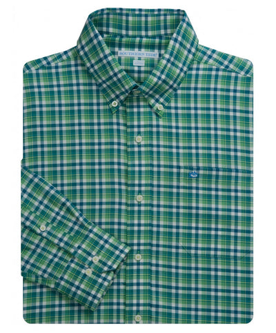 Southern Tide - Salem Plaid Sport Shirt