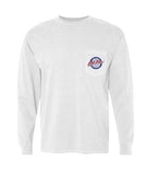 Old Row - Retro Circle Pocket Long Sleeve Tee