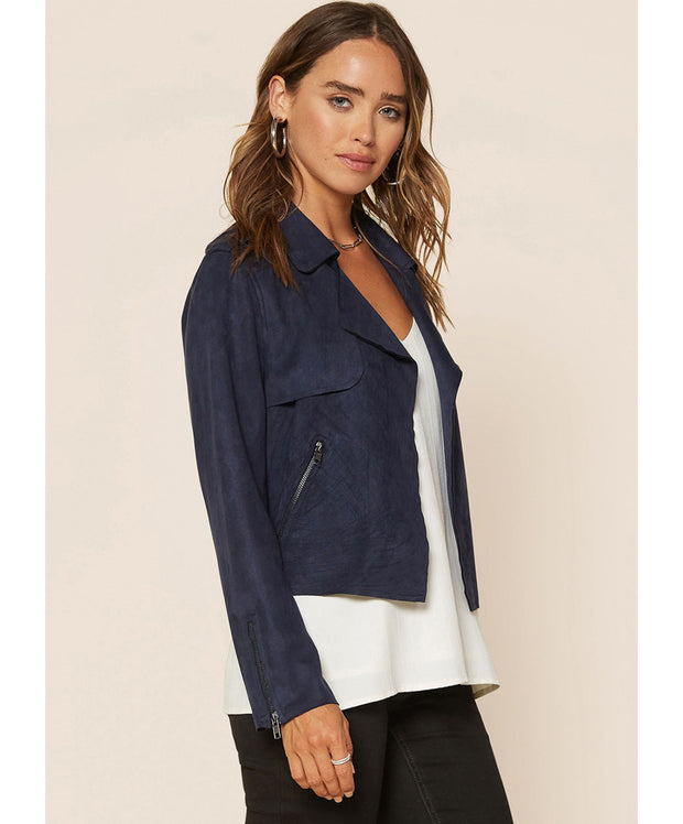 Catch You Later Biker Jacket