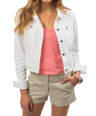 Southern Tide - The Weatherly Jean Jacket