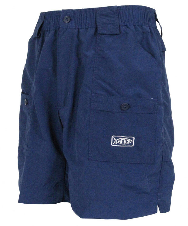 "Aftco - Original Long Fishing Shorts 18"" - Navy"