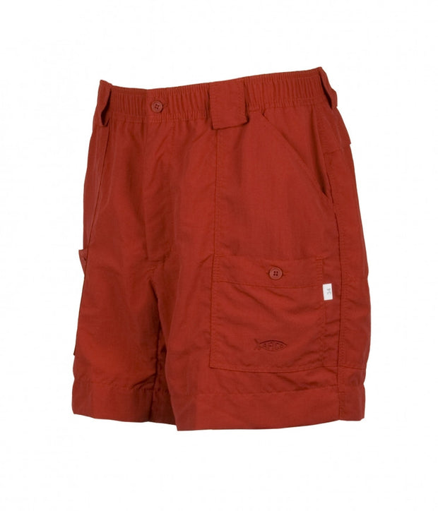 Aftco - Boys Original Fishing Shorts - Red