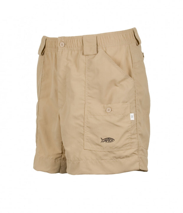 Aftco - Boys Original Fishing Shorts - Khaki