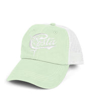 Costa - Retro Trucker Hat - Juniper/White