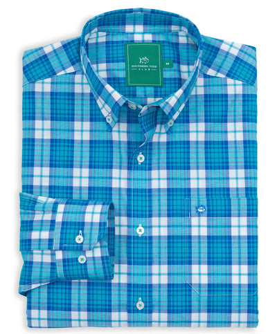 Southern Tide - Key Bridge Classic Shirt - Cool Breeze