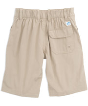 Southern Tide - Youth Swim Tide to Trail Watershorts - Sandstone Khaki Back