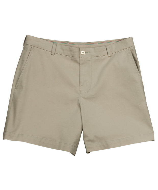 "Southern Tide - Summer Weight 7"" Channel Marker Short - Sandstone Khaki"