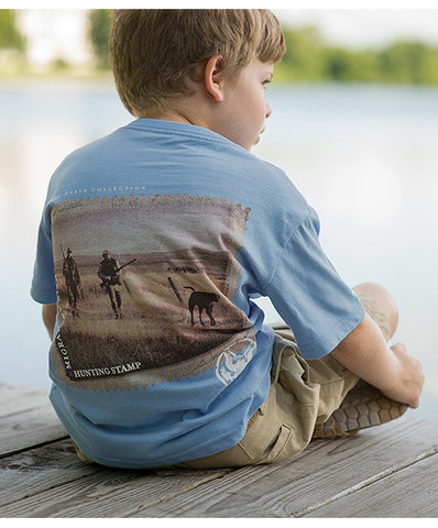 Southern Marsh - Youth Chocolate Lab Tee