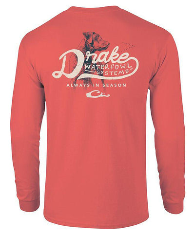 Drake - Lab Always In Season Long Sleeve Tee