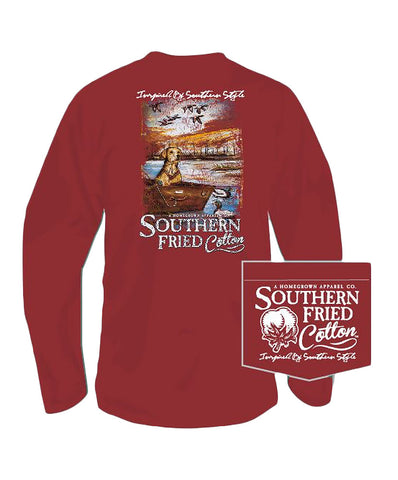 Southern Fried Cotton - Day on Lake Long Sleeve Tee