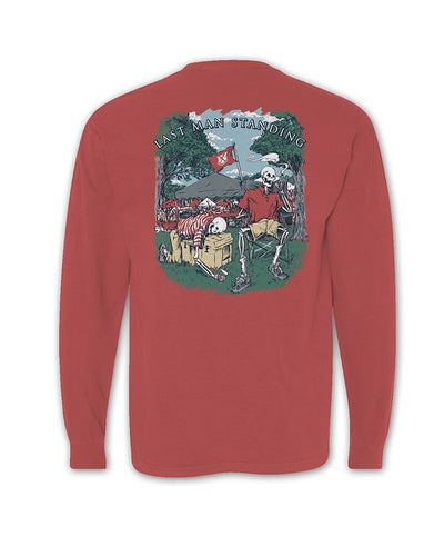 Old Row - Last Man Standing Long Sleeve Pocket Tee