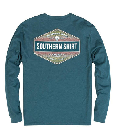 Southern Shirt Co - Rainbow Trout Badge Long Sleeve Tee