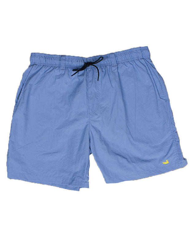 Southern Marsh - The Dockside Swim Trunk - Lilac w/ Lime Duck