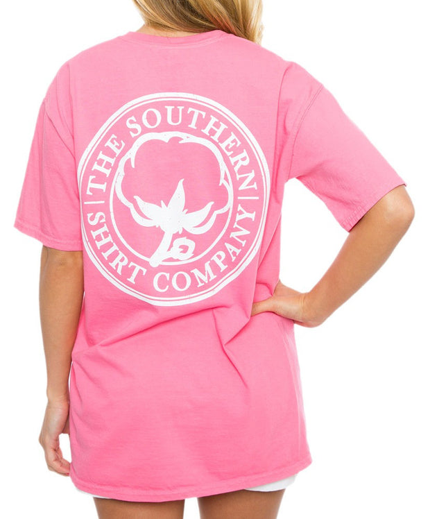Southern Shirt Co. - Seaside Logo Tee - Lily Pink