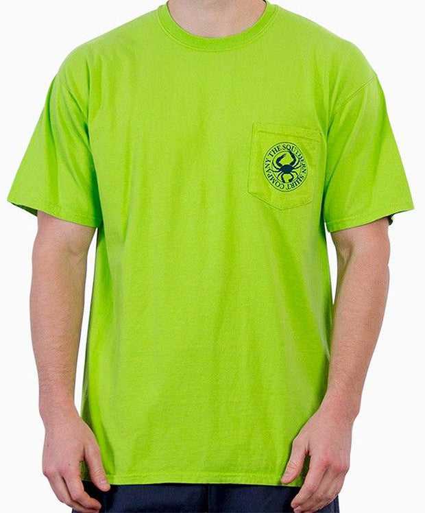 Southern Shirt Co. - Palmetto Club Short Sleeve Tee - Lime Front