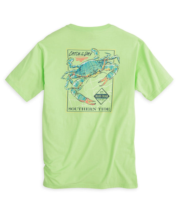 Southern Tide - Catch of the Day Blue Crab Tee