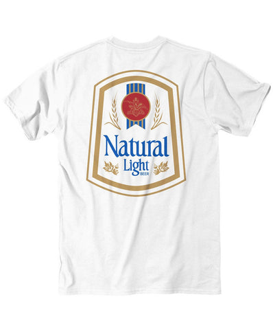 Rowdy Gentleman - Natty Light Vintage Logo Pocket Tee