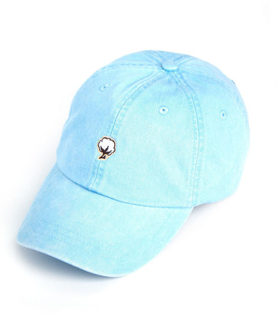 Southern Shirt Co. - Embroidered Cotton Logo Hat Carolina Blue
