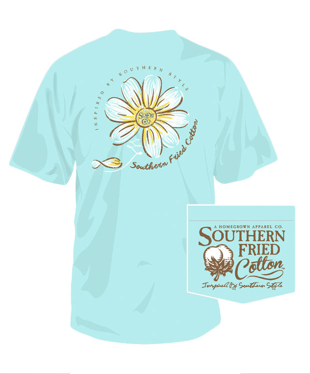 Southern Fried Cotton - He Loves Me Pocket Tee