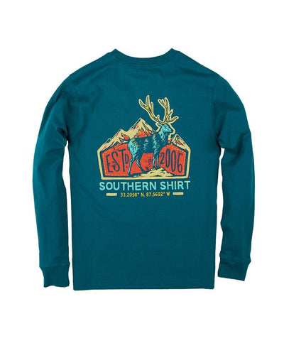 Southern Shirt Co. - Youth Elk Lodge Long Sleeve Tee
