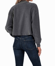 Southern Shirt Co - Cropped Corduroy Sweatshirt