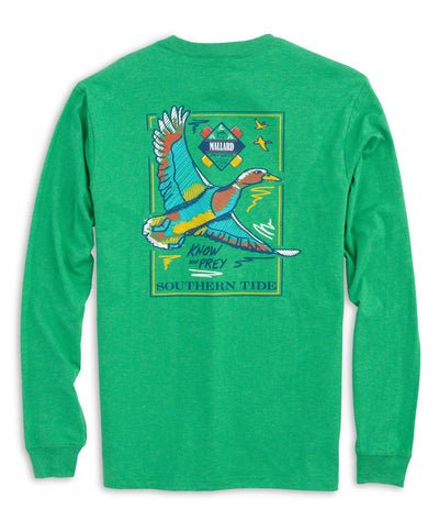 Southern Tide - Know Your Prey Mallard Long Sleeve Tee