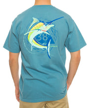 Southern Shirt Co. - Marlin Marker Tee - Twilight