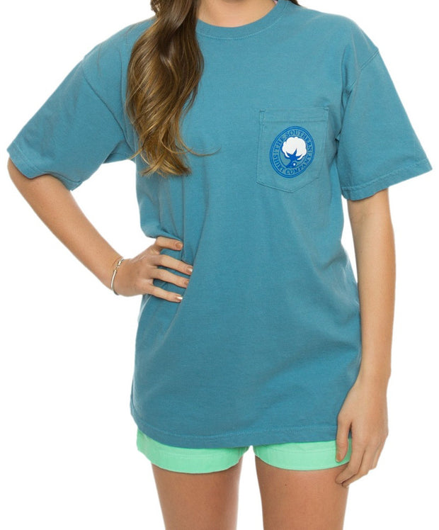 Southern Shirt Co. - Marlin Marker Tee - Twilight Front
