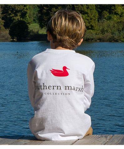 Southern Marsh - Youth Authentic Long Sleeve Tee
